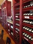 The showroom of Vine Street Cellars in Glkenwood, Iowa.
