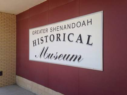 Open year round and ready for all you historians! 800 West Sheridan Avenue, Shenandoah, Iowa