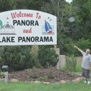 The home to Lake Panorama and the destination to a family from down south. Like way further than Keokuk.