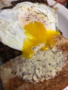 Steak and eggs-Hungry Bear in Burlington, Iowa