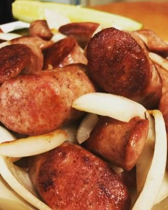 Polish Sausage from Ruzicka's in Solon, Iowa