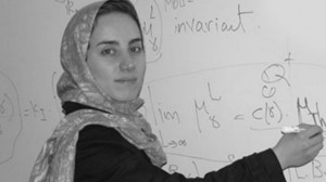 Iranian math scientist Maryam Mirzakhani