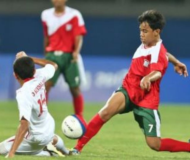 The Iran U  Football Team Edged Iraq   On Wednesday To Advance To The Final Match Of The Asian Youth Games Ayg On Wednesday