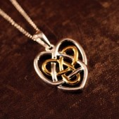 Celtic Sisters Knot Necklace