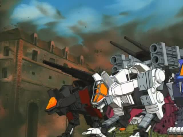 Image result for zoids white command wolf