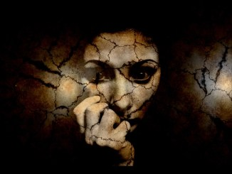 Furrow Fear Woman Crack Scratches Notch Threat