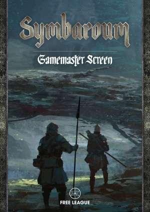 Symbaroum Game Masters Screen cover