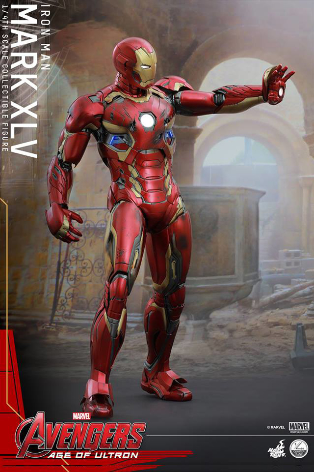 Build Iron Man Mark XLV Armor Costume Suit