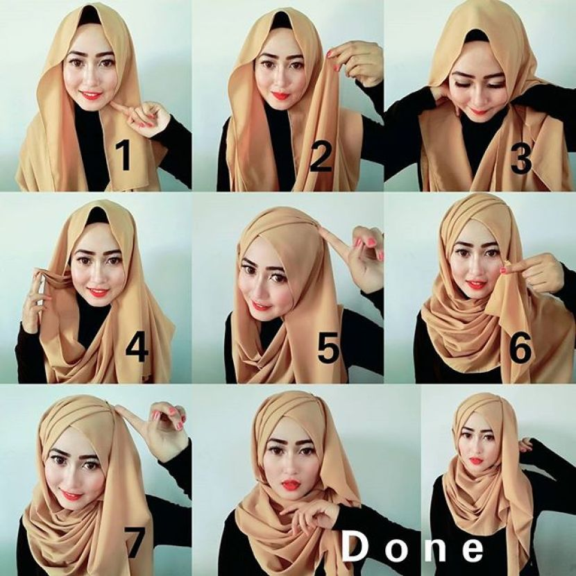 Easy Ways To Style Your Hijabs The Islamic Blog