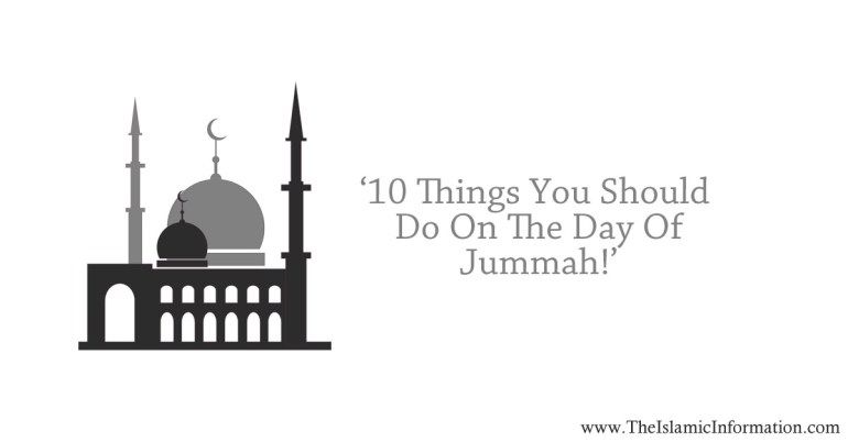 jummah things to do