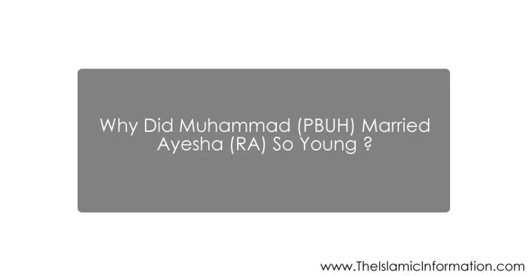 muhammad Aisha marry