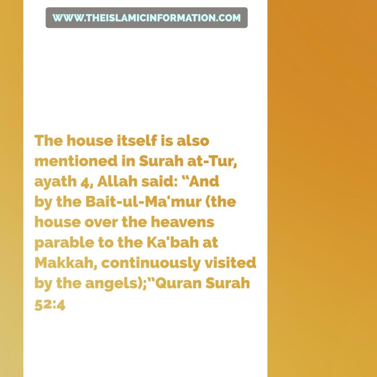 Baitul Ma'mur mention in Al Quran