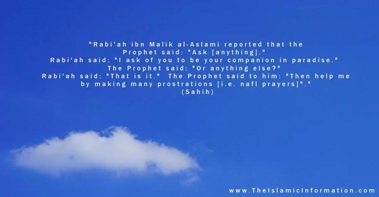 nafl prayers hadith