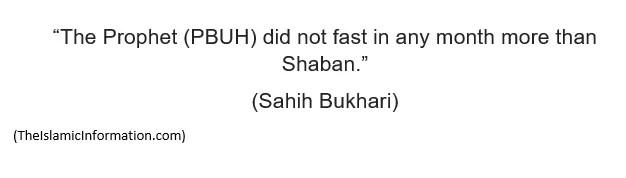 Shaban sahih bukhari