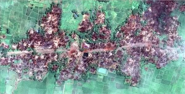 All Muslim Villages in Mayanmar Have Burnt Down