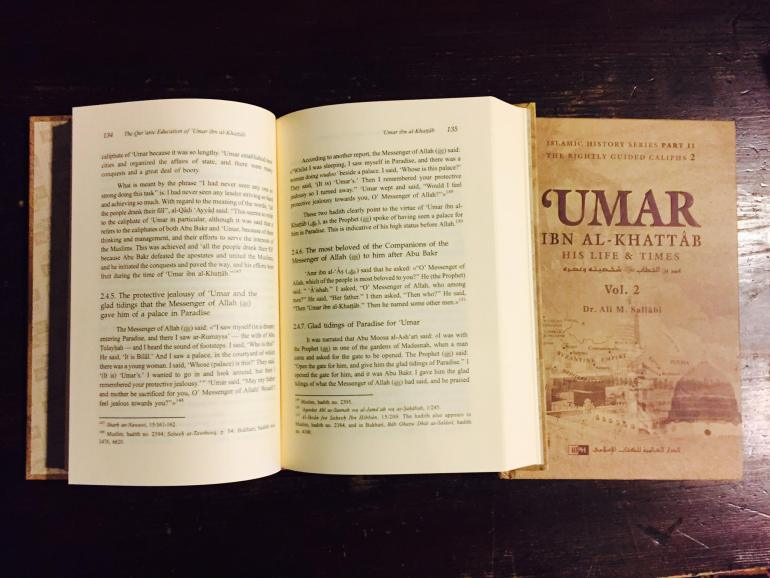 Book on the Life of Umer Ibn Khattab (RA)