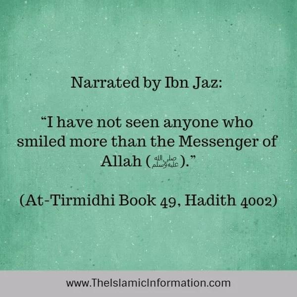 be positive hadith