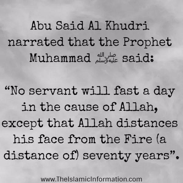 fasting islam hadith