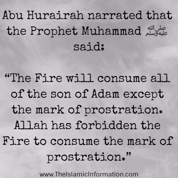 hadith about hell