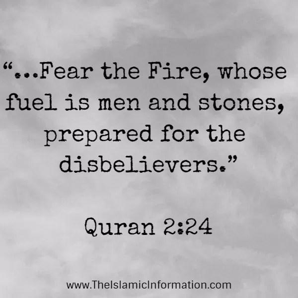 hell fire quran