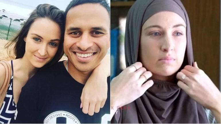 Muslim cricketer Usman Khawaja fiancée converted to Islam