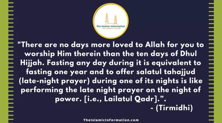 dhul hijjah quran Tirmidhi (1)