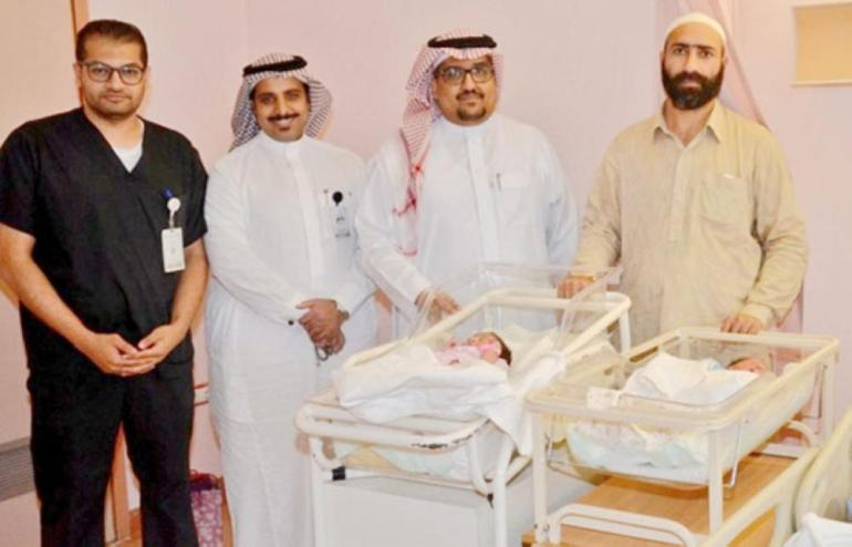 Pakistani pilgrim gives birth during hajj