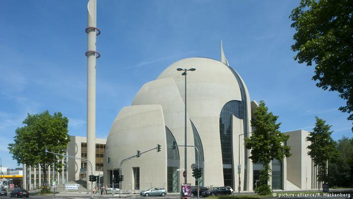 europe biggest mosque cologne central mosque