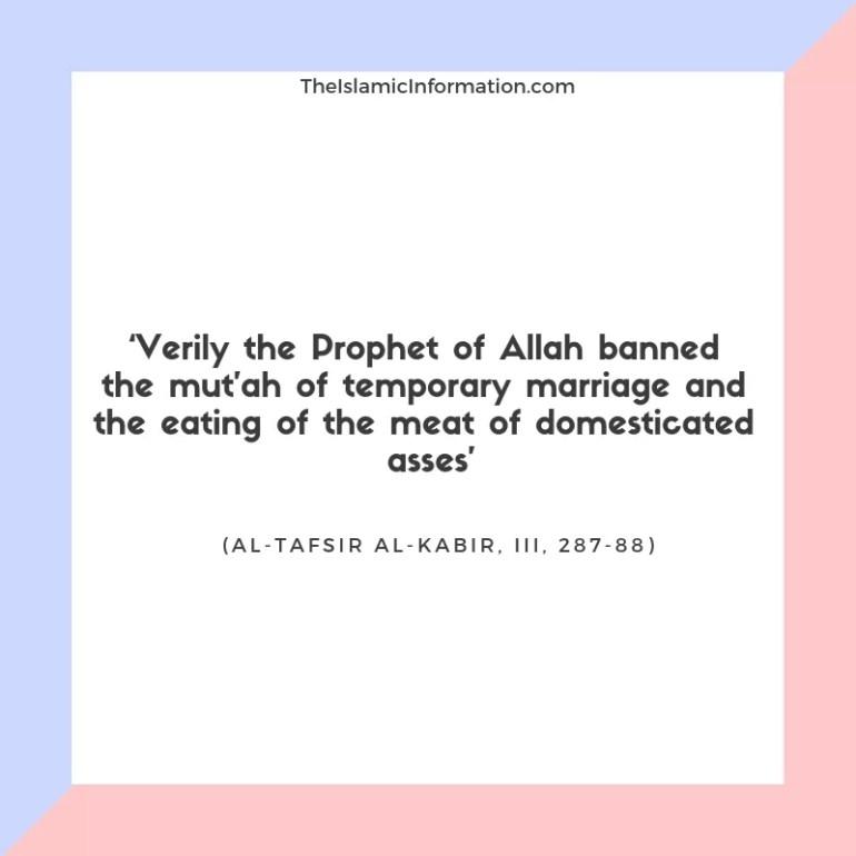 Nikah Mutah Temporary Marriage Hazrat Ali