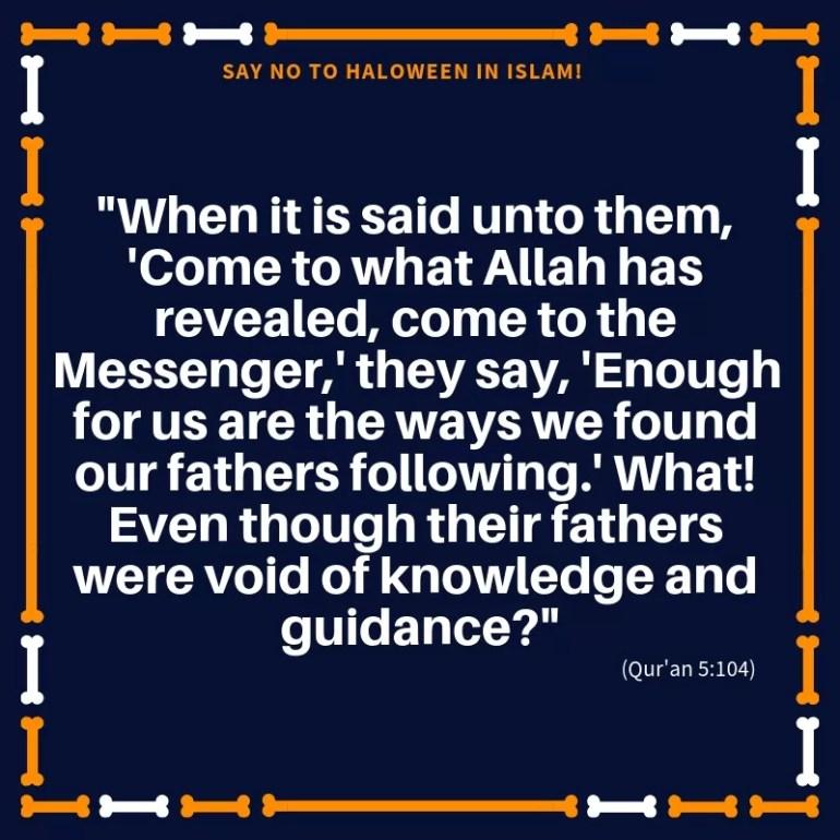 haloween in islam quran