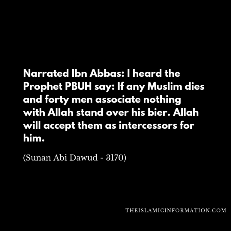 benefit dead dua islam