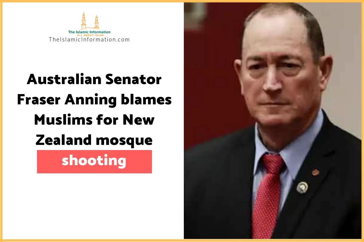 Senator Anning Twitter: Fraser Anning, An Australian Senator Blames Muslims For