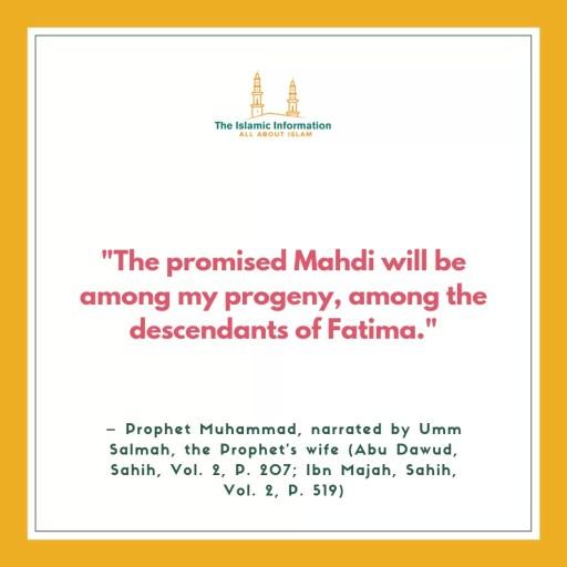 Imam Mahdi Hadiths (5)