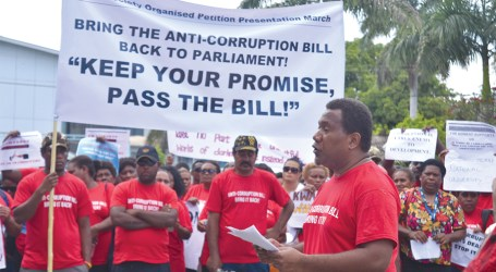 Solomon Islands people fed up with corruption