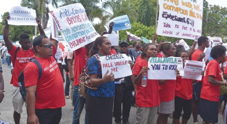 RSIPF commends civil society group for peaceful march