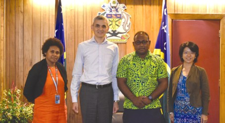 UNDP pays courtesy call on PM Acting