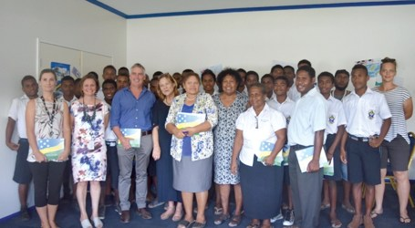 Words and Pictures Solomon Islands book project launched