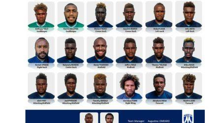Marist FC names Squad