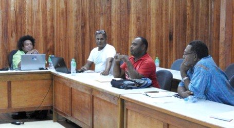 PCDF projects discussed in Auki