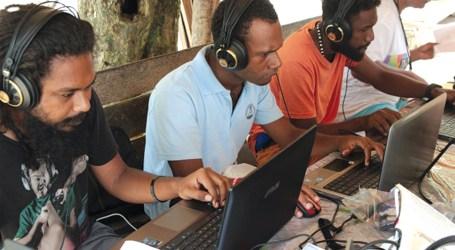 East Bugotu community on audio recording training
