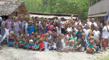 Hearts of Hope clothes communities of Baolo and Maeana