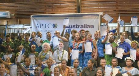 APTC honoured in colourful graduation