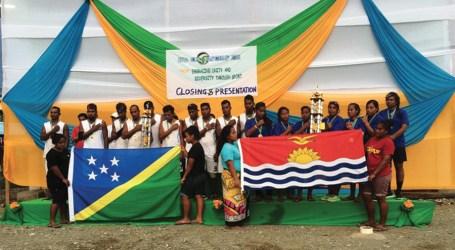 Kiribati women's team takes home trophy