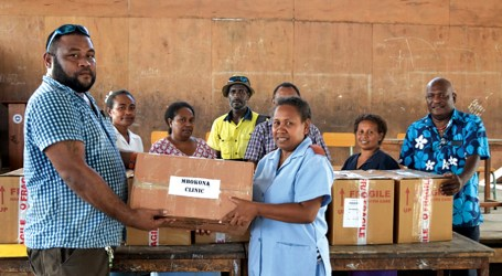 Tran supports 3 clinics in west Honiara