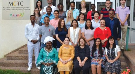 Maeaba attends civil society leadership training in Israel