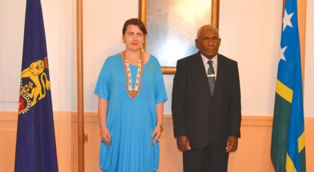 Romanian Ambassador presents credentials
