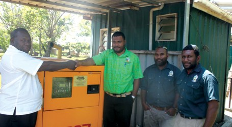 Siota receives new school generator