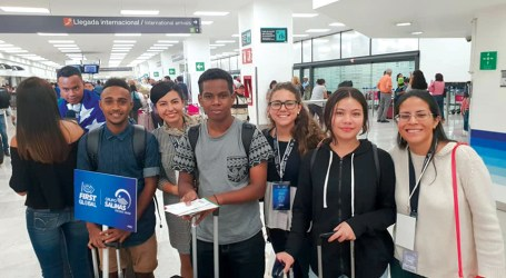 Team Solomons arrive safely in Mexico ahead of comp