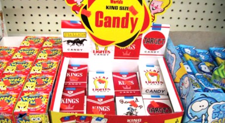 Cigarette candy – luring children to smoking