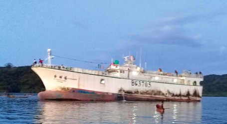Wrong route lands Asian fishing vessel on Ngella reef